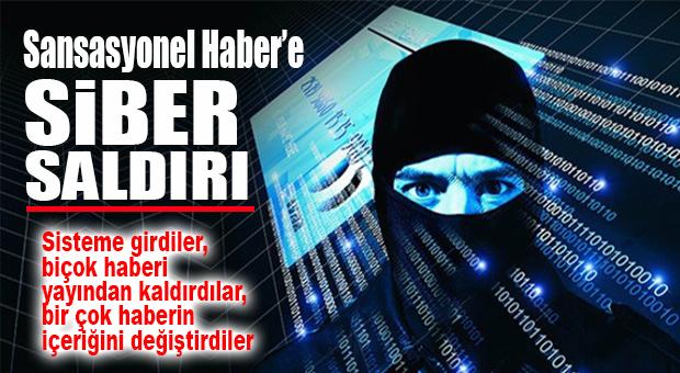 SANSASYONEL HABER'E SİBER SALDIRI BERTARAF EDİLDİ…