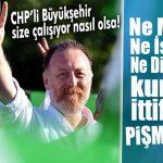 CHP'Lİ BÜYÜKŞEHİR'İ ARKASINA ALAN HDP MUTLU: NE MERSİN, NE İSTANBUL NE DE DİYARBAKIR PİŞMANMIŞ!