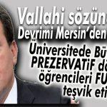 """ULUSAL BASIN YERDEN YERE VURDU: """"MERSİN BÜYÜKŞEHİR'DEN FUHŞA TEŞVİK!"""""""