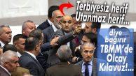 """MECLİS'TE KILAVUZ ŞOV SÜRÜYOR: """"TERBİYESİZ HERİF, UTANMAZ HERİF!"""""""