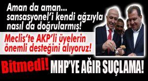 """SANSASYONEL'İN DEDİĞİ ÇIKTI: """"AKP'NİN ÖNEMLİ ÖLÇÜDE DESTEĞİNİ ALIYORUZ!"""""""