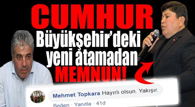 """YENİ GENEL SEKRETERE """"CUMHUR""""DAN ONAY: """"YAKIŞIR!"""""""