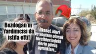 CHP'Lİ BOZDOĞAN'DAN KOPAN KOPANA: BELEDİYE BAŞKAN YARDIMCISI DA İSTİFA ETTİ