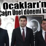 MERSİN ÜLKÜ OCAKLARINDA ÜNEL DÖNEMİ KAPANDI, SEZER DÖNEMİ BAŞLADI