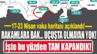 SON DAKİKA… MERSİN'DE 1 HAFTADA 100 BİNDE 208,91 VAKA!