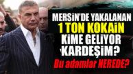 """SEDAT PEKER'DEN """"MERSİN"""" BOMBASI: LİMANDA YAKALANAN 1 TON KOKAİN ÜZERİNDEN İÇİŞLERİ BAKANINA YÜKLENDİ!"""
