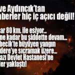 """SON DAKİKA! BAKAN PAKDEMİRLİ'DEN MERSİN'E KÖTÜ HAVADİS: """"RÜZGAR 80 KM HIZLA ESİYOR VE YARIN ÖĞLENE KADAR SÜRECEK!"""""""