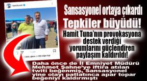 HAMİT TUNA YİNE GERİ ADIM ATTI… F.Ü İLE RESMİNİ APAR TOPAR KALDIRDI!