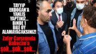"""MERSİN'DE ALİ BABACAN'A ŞOK: """"TAYYİP ERDOĞAN'A YANLIŞ YAPTINIZ!"""""""