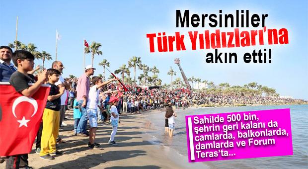Türk Yıldızları Mersin'de Nefes Kesti