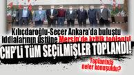 MENFUR SALDIRI SONRASI SEÇER ORTAYA ÇIKTI: CHP MERSİN'DE KRİTİK TOPLANTI!