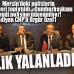 """FLAŞ…FLAŞ… FLAŞ… """"POLİSLERİN ŞARJÖRÜ TOPLATILDI"""" DİYEN CHP'Lİ ÖZEL'E VALİLİKTEN YALANLAMA"""